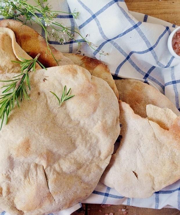 Chlebki pita pszenno-żytnie - Chleby