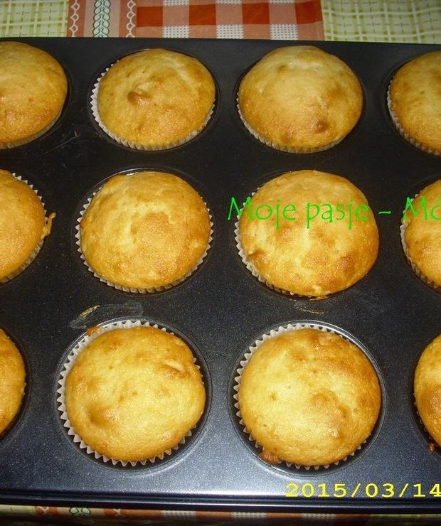 Muffinki z marcepanem - Muffiny i babeczki