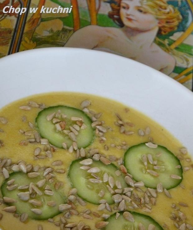 Kokos na bani (Krem dyniowy z kokosem) - Z warzywami
