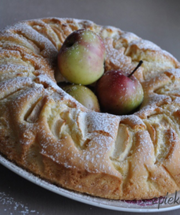 Ciasto ucierane z jabłkami - Inne