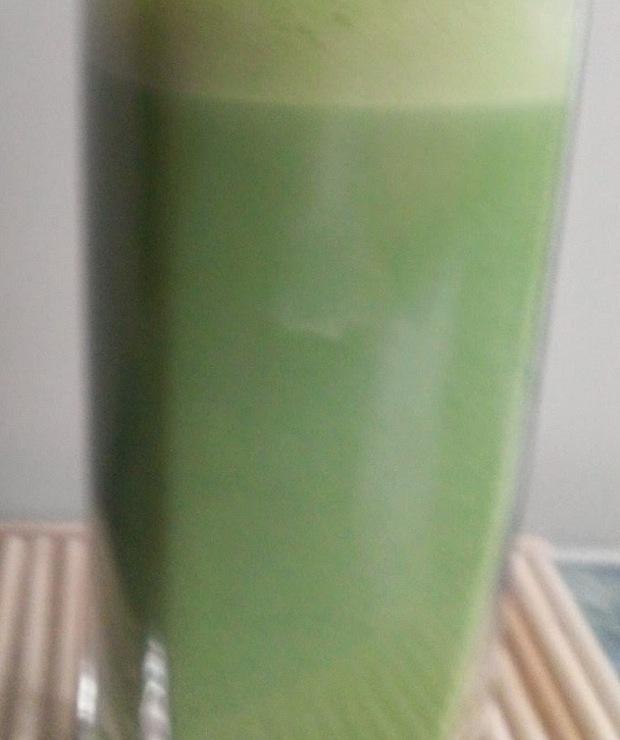 Herbata Matcha z mlekiem - Gorące