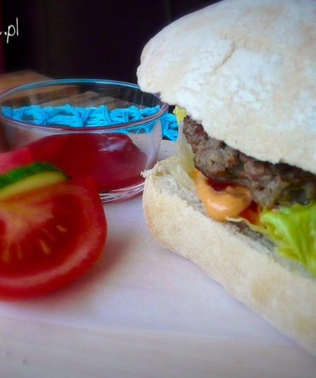 Domowy burger - Wołowina