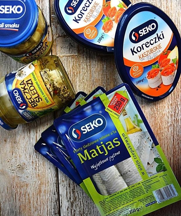 Seko #wyhaczrybke - Produkty
