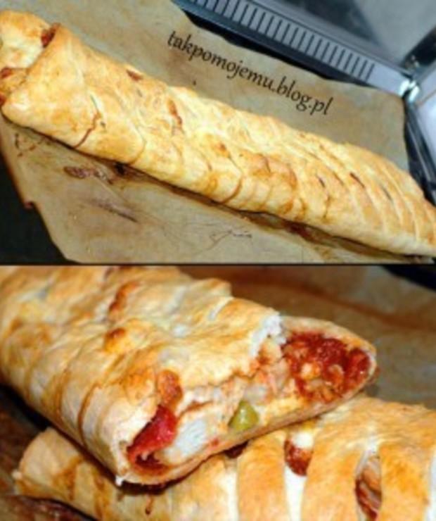Stromboli czyli rulon pizzowy - Pizza i calzone