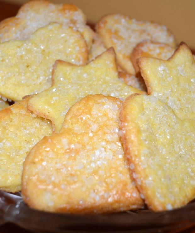 Cukrowe ciasteczka idealne na święta i na co dzień - Ciastka