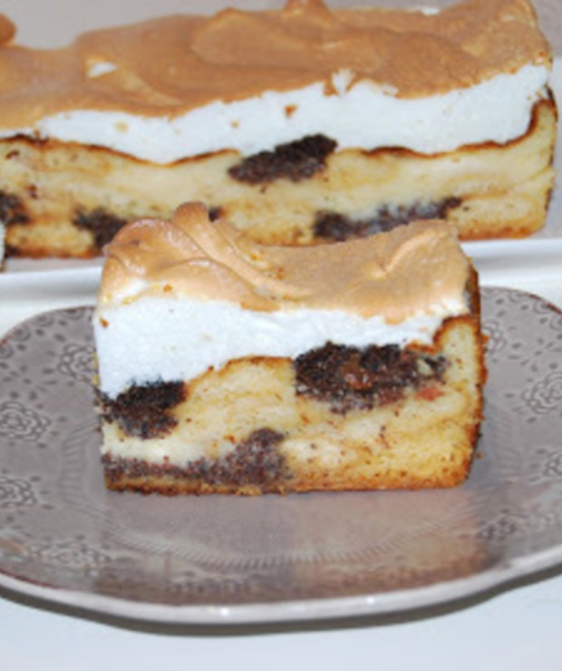 Ciasto ucierane serowo-makowe - Makowce