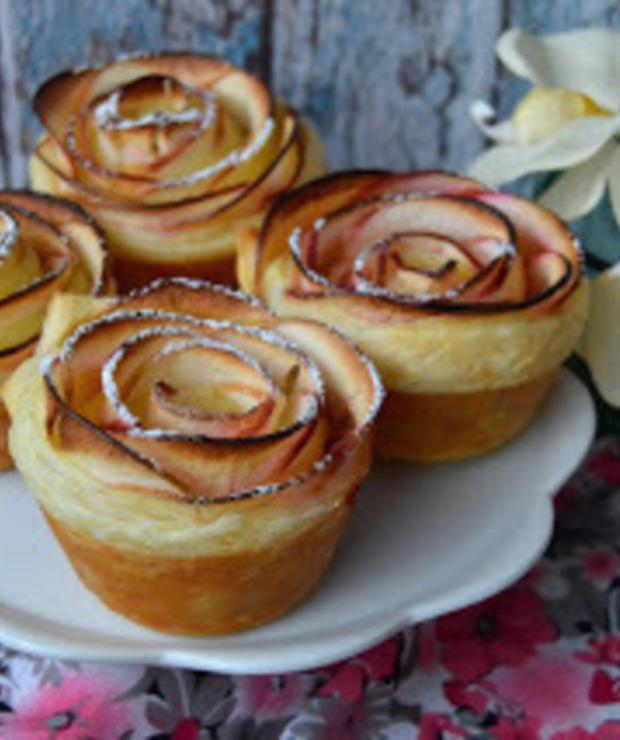 Róże z ciasta francuskiego - Inne