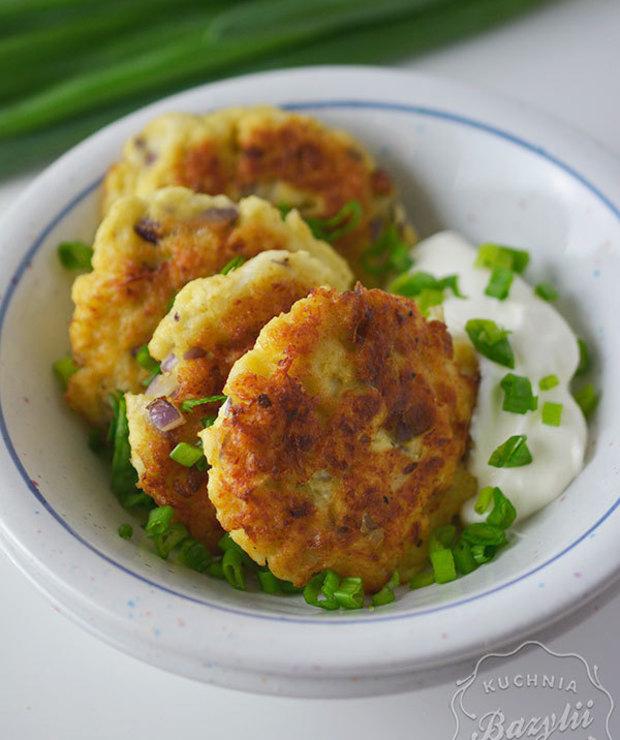 Placuszki z kalafiora - Warzywa