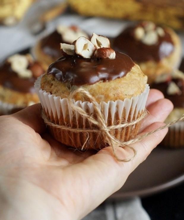 Proste muffinki bananowe - Muffiny i babeczki