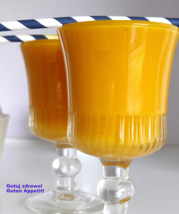 Koktajl marchewkowo-ananasowy - Zimne
