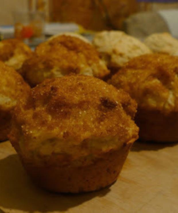 Muffinki z cynamonową posypką - Muffiny i babeczki