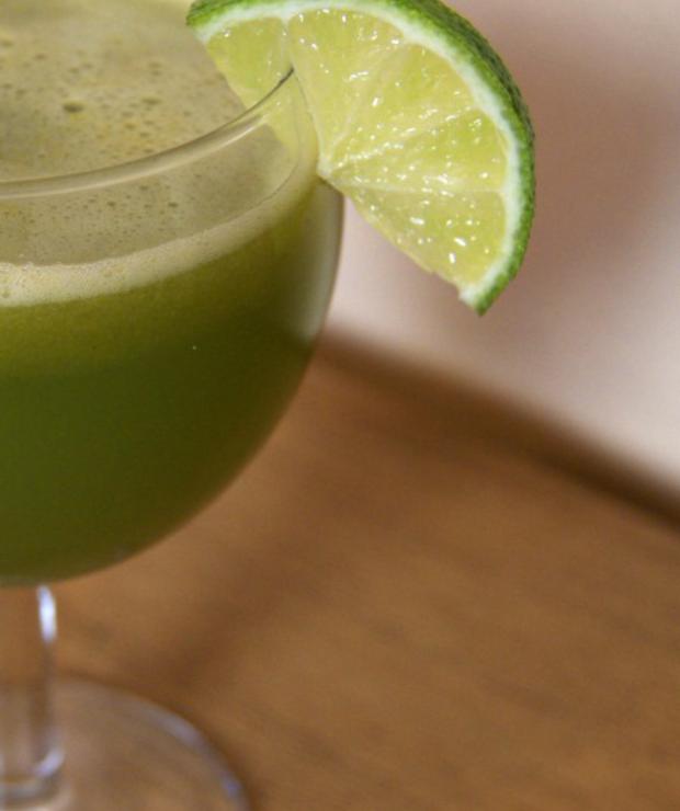 Zdrowy sok owocowo-warzywny - Zimne