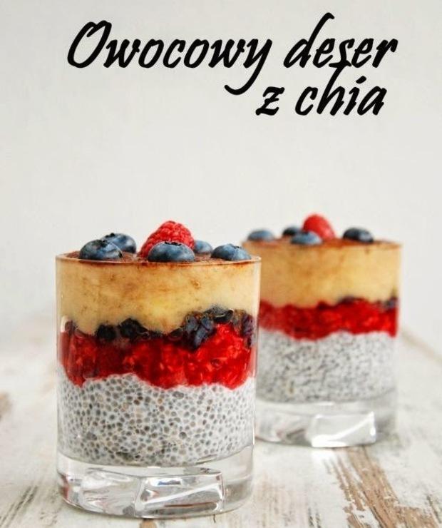 Owocowy deser z chia - Inne